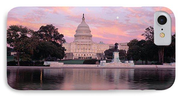 Capitol Building iPhone 7 Case - Us Capitol Washington Dc by Panoramic Images