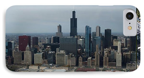 Us Cellular And Wrigley Field Chicago Baseball Parks 3 Panel Composite 02 Phone Case by Thomas Woolworth