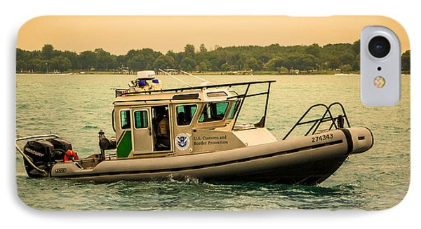 U.s. Customs Border Patrol IPhone Case