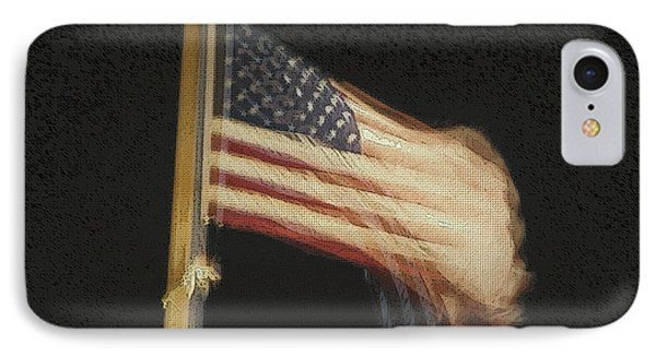 Us Flag IPhone Case by Celestial Images