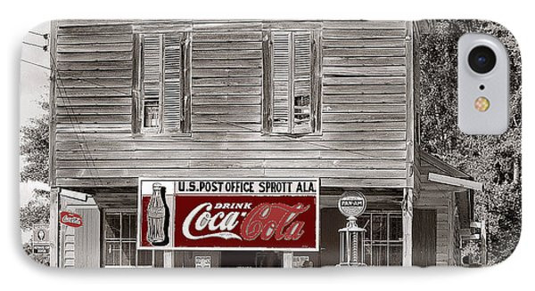 U.s. Post Office General Store Coca-cola Signs Sprott  Alabama Walker Evans Photo C.1935-2014. IPhone Case by David Lee Guss