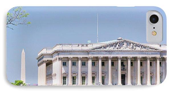 U.s. Senate Side Of U.s. Capitol IPhone Case
