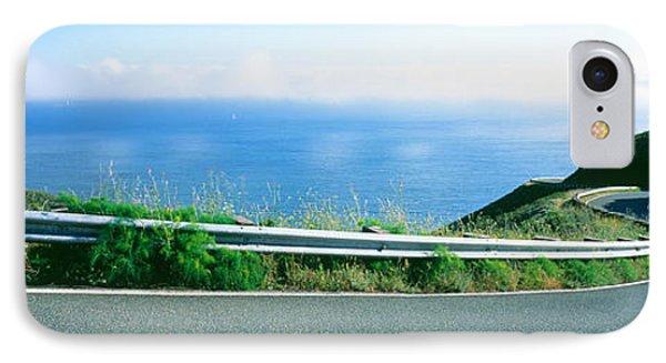 Usa , California, Marin County, Road IPhone Case