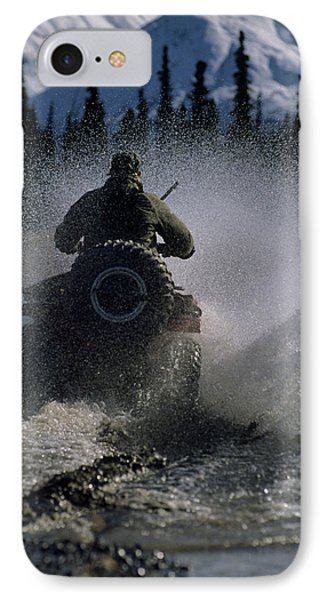 Usa, Alaska, Park Ranger, All Terrain IPhone Case by Gerry Reynolds
