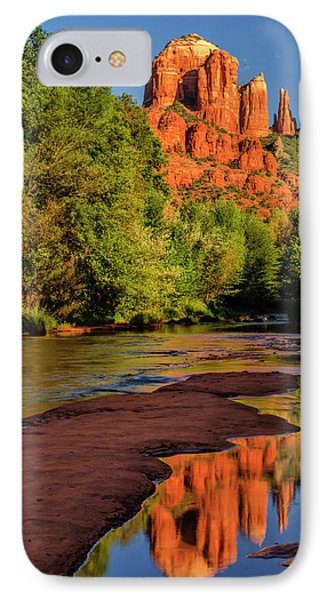 Usa, Arizona Cathedral Rock Reflects IPhone Case