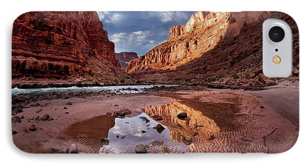 Usa, Arizona, Grand Canyon, Colorado IPhone Case by John Ford