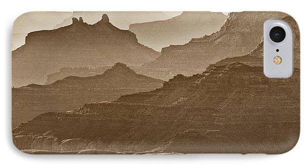 Usa, Arizona, Grand Canyon National IPhone Case by Ann Collins