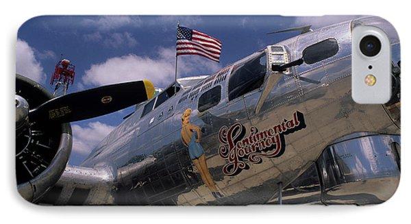 Usa, B-17 Bomber Aircraft, Salinas IPhone Case
