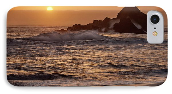 Usa, California, Big Sur IPhone Case by Ann Collins