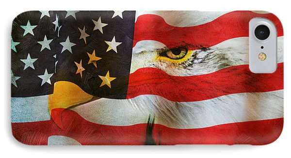 USA IPhone Case by Darren Fisher