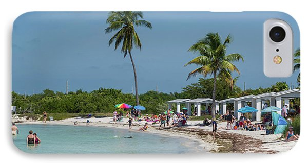 Usa, Florida, Bahia Honda State Park IPhone Case by Charles Crust