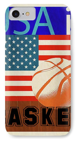 Usa Is Basketball IPhone Case