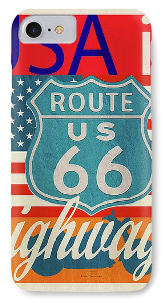 Usa Is Highways IPhone Case by Joost Hogervorst