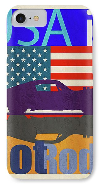 Usa Is Hot Rods IPhone Case