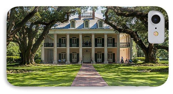 Usa, Louisiana, Oak Alley Plantation IPhone Case by Dosfotos