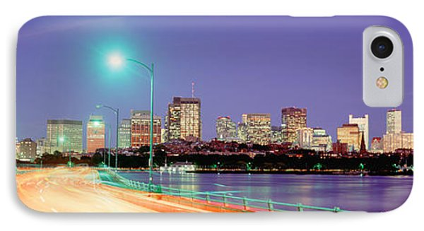 Usa, Massachusetts, Boston, Highway IPhone Case by Panoramic Images