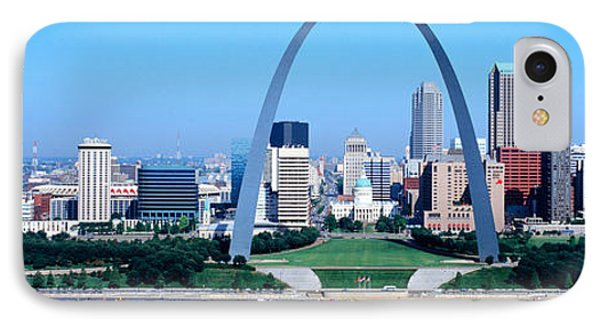 Usa, Missouri, St. Louis, Gateway Arch IPhone Case by Panoramic Images