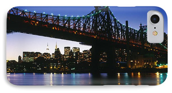 Usa, New York City, 59th Street Bridge IPhone Case by Panoramic Images