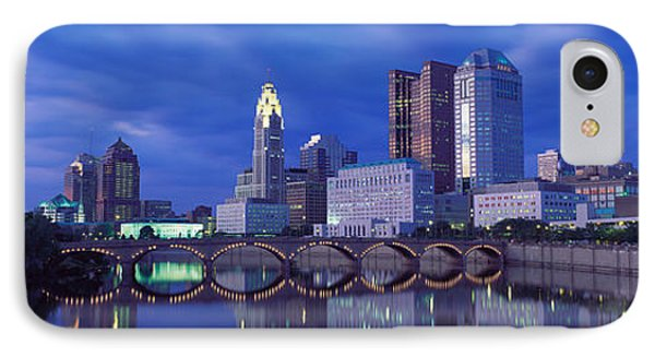 Usa, Ohio, Columbus, Scioto River IPhone Case by Panoramic Images