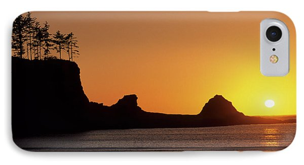 Usa, Oregon, Astoria, Sunset, Sunset IPhone Case by Gerry Reynolds