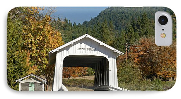 Usa, Oregon, Cottage Grove IPhone Case