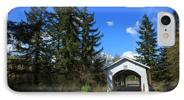 Usa, Oregon, Hannah Bridge IPhone Case by Rick A Brown