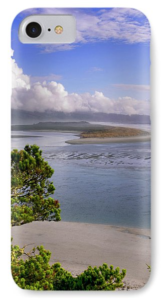 Usa, Oregon Netarts Bay In Cape Lookout IPhone Case