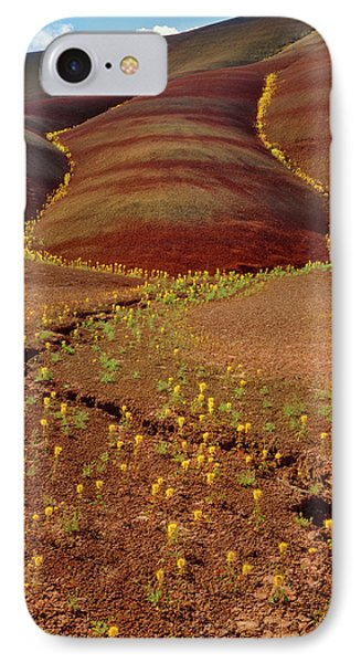 Usa, Oregon, Painted Hills In John Day IPhone Case by Jaynes Gallery