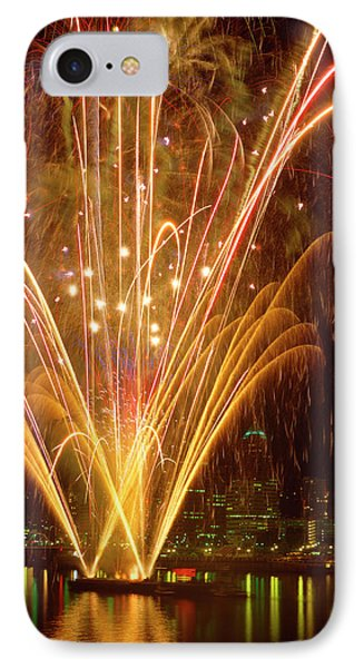 Usa, Oregon, Portland, Independence Day IPhone Case by Jaynes Gallery