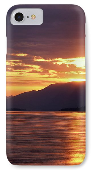 Usa, Oregon, View Of Columbia River IPhone Case
