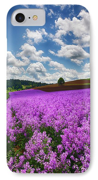 Usa, Oregon, Willamette Valley, Farming IPhone Case by Terry Eggers