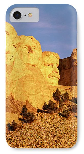Usa, South Dakota, Keystone, View IPhone Case by Walter Bibikow