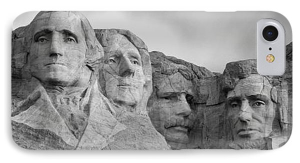 Usa, South Dakota, Mount Rushmore, Low IPhone Case by Panoramic Images