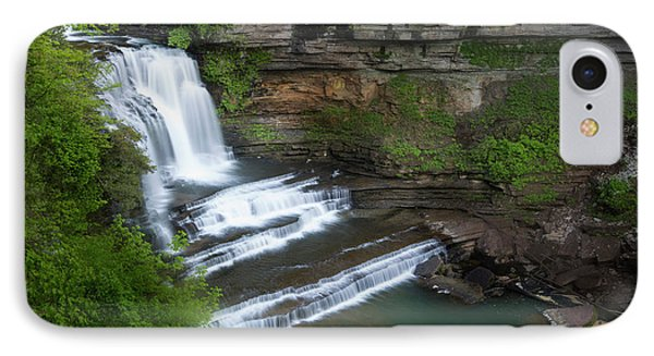 Usa, Tennessee, Cummins Falls State Park IPhone Case by Jaynes Gallery
