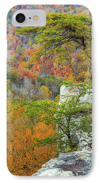 Buzzard iPhone 7 Case - Usa, Tennessee, Fall Creek Falls State by Jaynes Gallery
