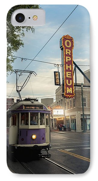 Usa, Tennessee, Vintage Streetcar IPhone Case by Dosfotos