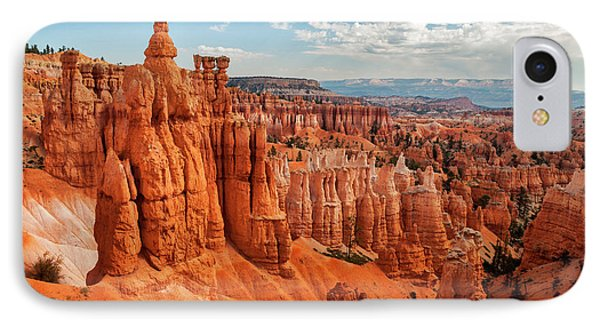 Usa, Utah, Bryce Canyon National Park IPhone Case by Ann Collins
