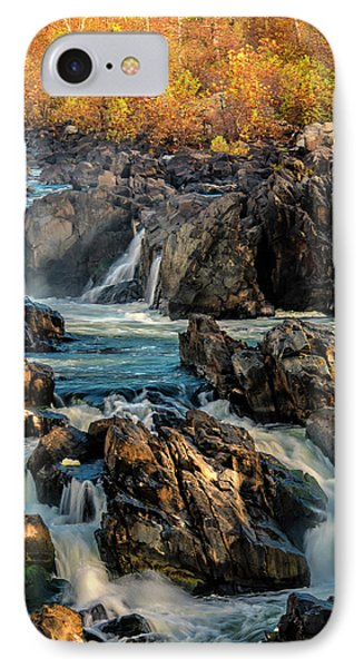 Usa, Virginia, Great Falls Park IPhone Case by Jaynes Gallery