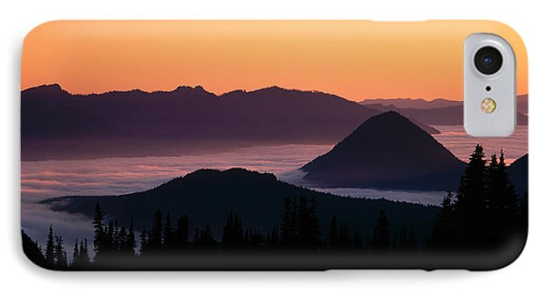 Usa, Washington, Mount Rainier National IPhone Case