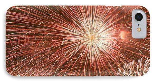 Usa, Wyoming, Jackson, Fireworks IPhone Case