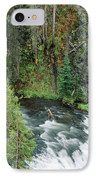 Usa, Wyoming, Yellowstone National IPhone Case by Scott T. Smith