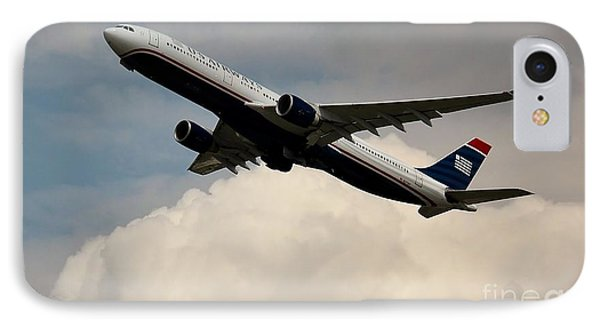 Usair Airbus IPhone Case by Rene Triay Photography