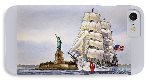 Uscg Eagle IPhone Case by James Williamson