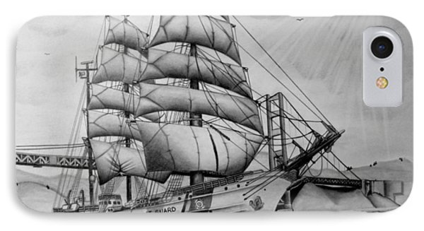 Uscgc Eagle IPhone Case by Scott McIntire