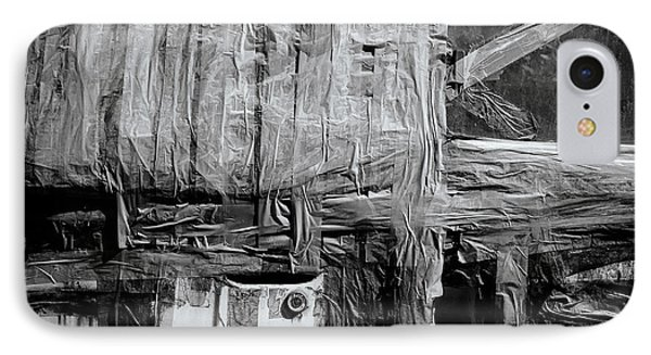 Used Car Abstract IIi IPhone Case by Dean Harte