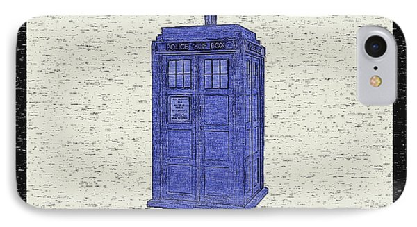 Used Time Machine IPhone Case by Deborah Smith
