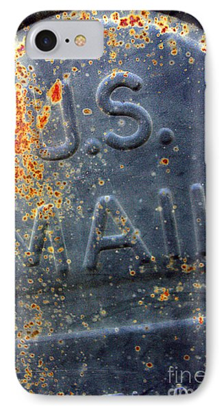 IPhone Case featuring the photograph U.s.mail by Joanne Coyle