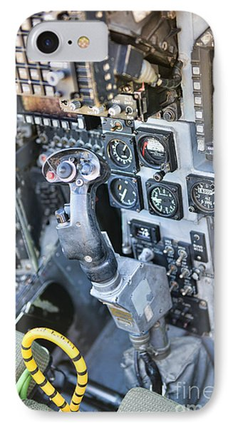 Usmc Av-8b Harrier Cockpit IPhone Case by Olga Hamilton