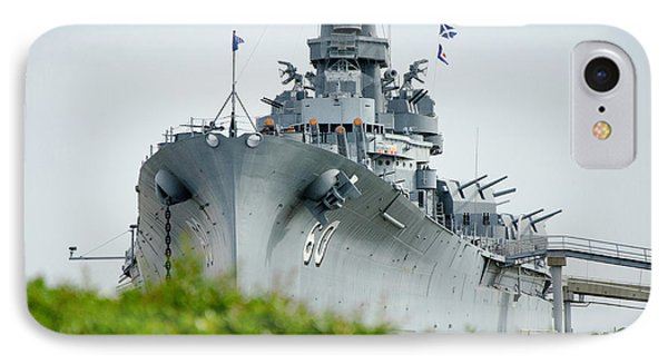 IPhone Case featuring the photograph Uss Alabama 2 by Susan  McMenamin