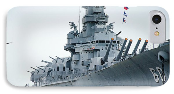 IPhone Case featuring the photograph Uss Alabama 3 by Susan  McMenamin